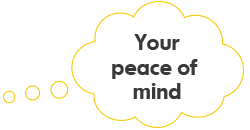 Your peace of mind